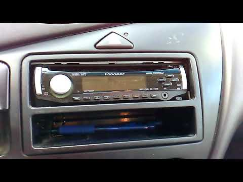 Setting the clock on the Pioneer Super Tuner D car stereo