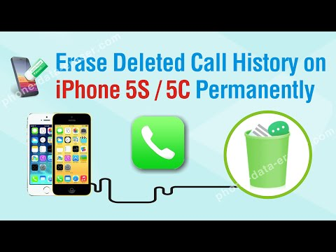 How to Effortlessly Erase Deleted Call History on iPhone 5S / 5C Permanently