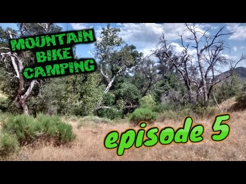 Bikepacking Camping/Hiking Adventure ★ Utilizing Complete Tyvek Bivy & Modular Backpack system