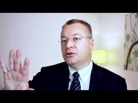 3 Minutes with Nokia CEO Stephen Elop