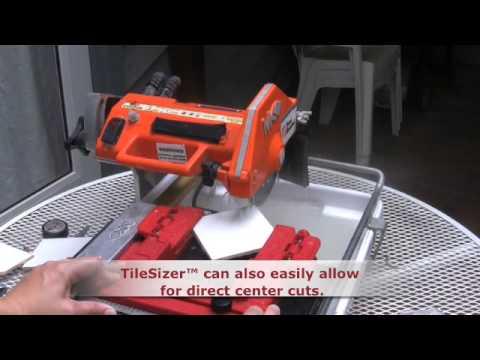 Tilesizer™ 4x4 Diagonal Tile Cut