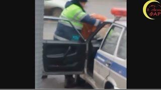 Люди спасли водителя от буйного ДПСника