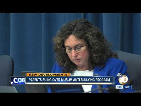 Parents suing over Muslim anti-bullying program at San Diego Unified School District