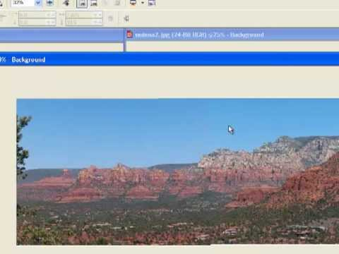 Stitching Images in CorelPHOTO-PAINT