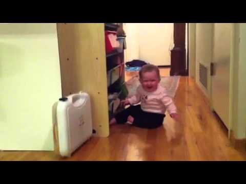 Learning to crawl makes baby cry