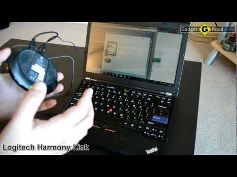 Logitech Harmony Link IR sensor for universal remote control via iPad and Android tablets