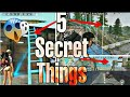 5 SECRET THINGS WHICH YOU DON39T KNOW IN FREE FIRESY GAMING PLANET
