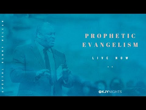 We are live with Apostle Renny McLean! Learn about prophetic evangelism tonight!