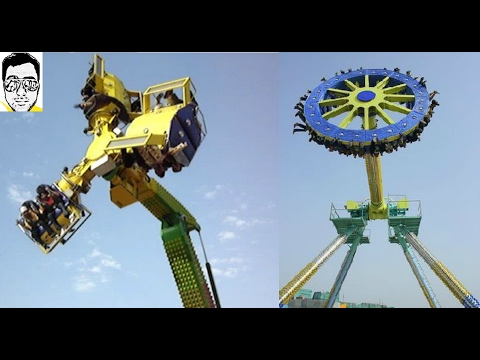 Most Terrifying Rides | Adventure Island, Amusement Park- DELHI | *HD* | GAURAVZONE