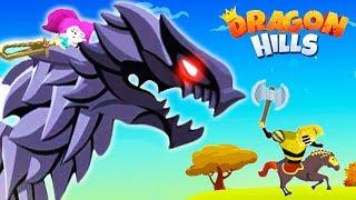 Dragon Hills #3 Прокачал ДРАКОНА! Веселая Мульт игра для детей про Ручного ДРАКОНА Принцессы