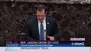 U.S. Senate: Impeachment Trial (Day 5)