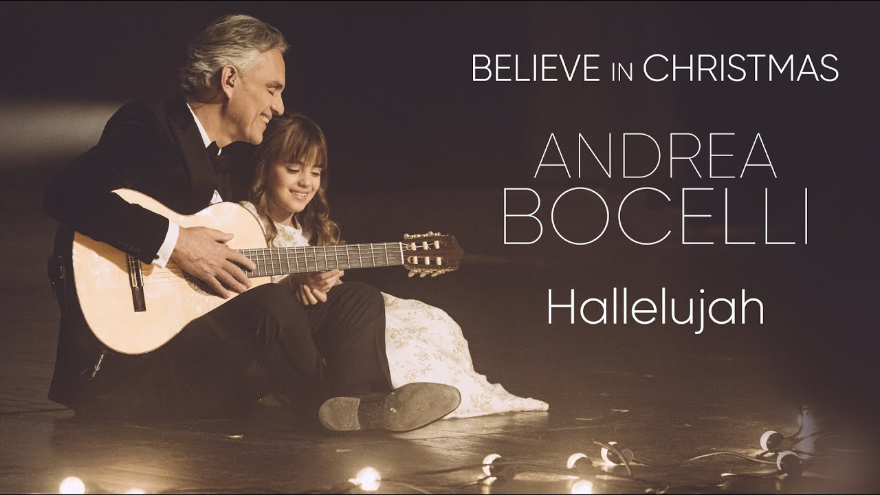 Andrea Bocelli - Hallelujah (live at Teatro Regio di Parma)