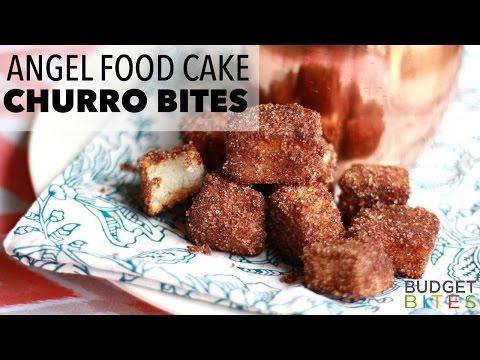 Angel Food Cake Churro Bites   Budget Bites