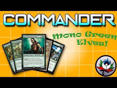 MTG – Ezuri, Renegade Leader Elves Tribal EDH/Commander Deck Tech for Magic: The Gathering!