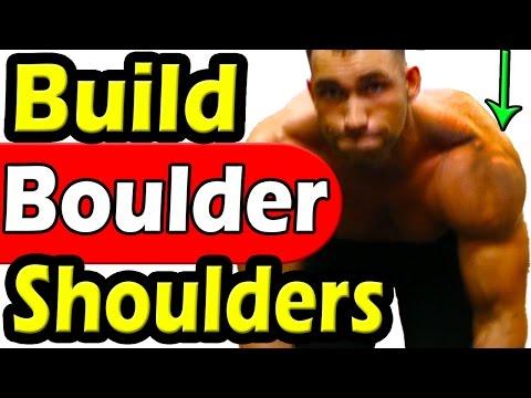 How to Build MASSIVE Boulder Shoulders Fast | BEST Exercise Guide | BIGGER Shoulder Workout for Mass