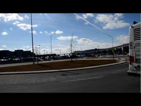 Metrolinx Union Pearson elevated Line being built to Pearson Airport Terminal #1