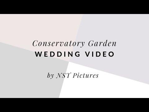 Conservatory Garden Central Park Wedding Video - Justine & Tarek - NYC wedding videographer