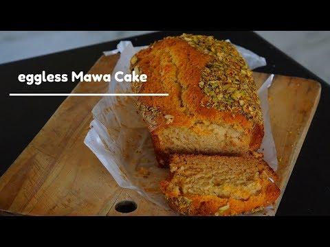 Eggless Mawa Cake - Eggless Cake -No Butter no condensed milk cake