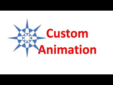 How to add custom animation to PPT Part 1
