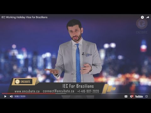 Work in Canada - IEC Working Holiday Visa for Brazilians