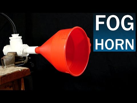 How To Make A Fog Horn - Easy PVC Design