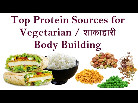 Top Vegetarian COMPLETE PROTEIN Sources & Foods For Body Building | Hindi
