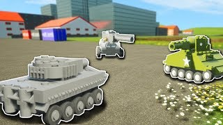 MINI CHALLENGE! - Brick Rigs Multiplayer Gameplay - Mini Tank Battle Challenge & more!