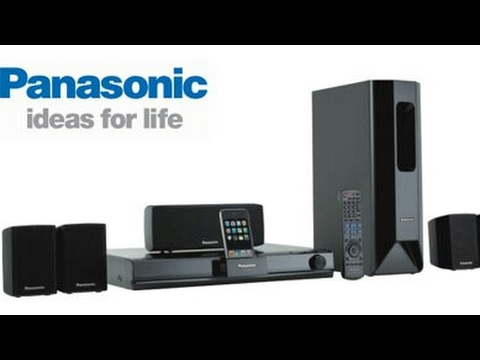 Panasonic sa pt470 1000 watts home cinema surround sound system.See description below and subscribe.