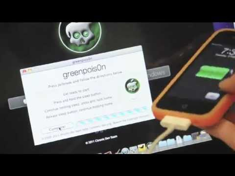 Jailbreak GreenPois0n Released! All Device iOS 6 iPhone 5 4s 3Gs iPad 2  iPod Touch