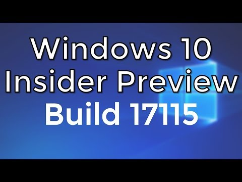 Windows Preview Build 17115 Download and Bootable USB