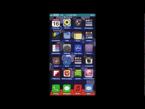 How to have blank home screen on your iPhone! (No Jailbreak Required)