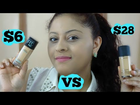 MAYBELLINE VS MAC FOUNDATION