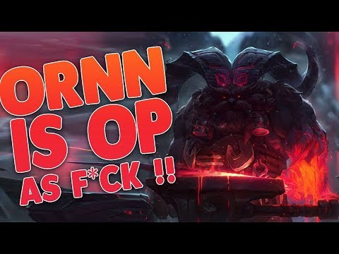 Ornn OP As F*ck, the Fire Beneath The Mountains