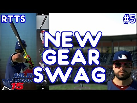 MLB 15 Road To The Show Episode 5 - New Gear Swag! PS4