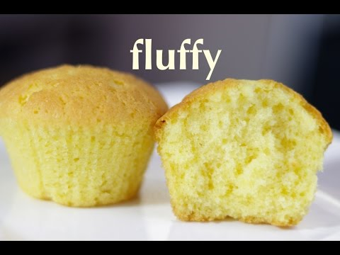vanilla cupcake - fluffy, moist, cupcake recipe - Cooking A Dream