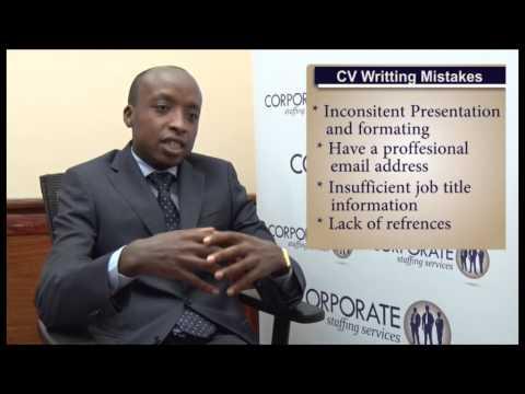 CV Writing For Jobs In Kenya