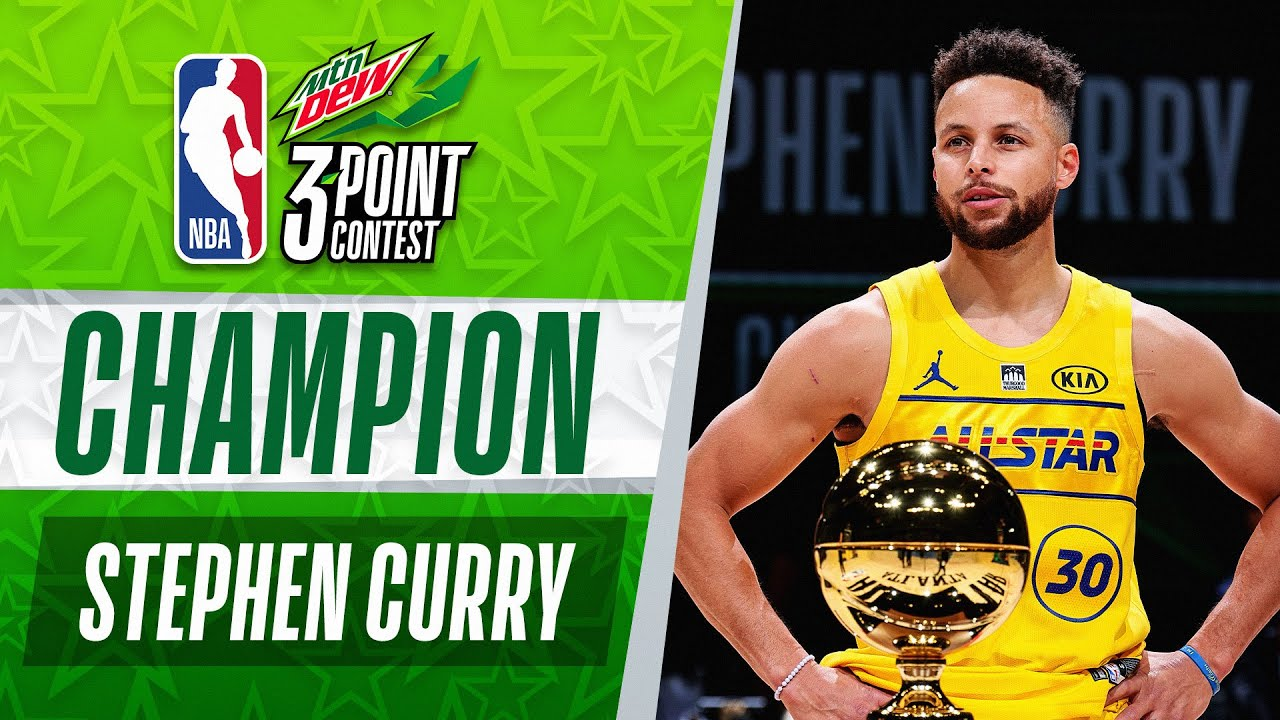Stephen Curry WINS The #MtnDew3PT Contest | 2021 #NBAAllStar