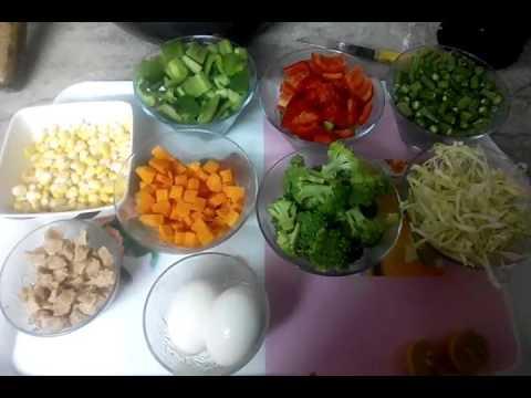 Easy recipe for Steamed vegetables