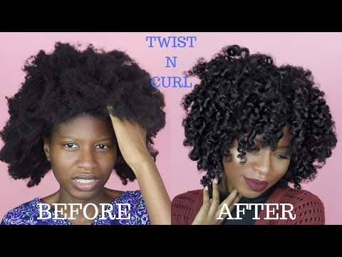 TWIST N' CURL FOR TYPE (4A,4B,4C) NATURAL HAIR | ft. LA NATURALS