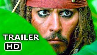 PIRATES OF THE CARIBBEAN 5 Jack Sparrow Trailer (2017) Dead Men Tell No Tales, Disney Movie HD