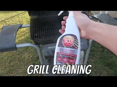 TG How to Clean a Gas Grill