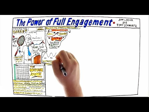 Video Review for The Power of Full Engagement by Tony Schwartz and Jim Loehr