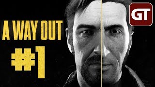 A Way Out Gameplay #1 - Let's Play A Way Out PC - German / Deutsch