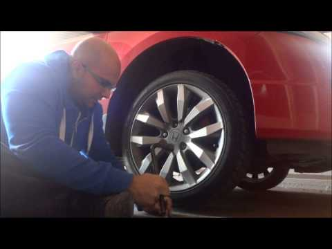 How To Change Summer And Winter Tires By Yourself (With Rims On)