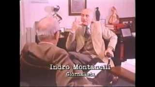 Enzo Biagi: Io ti saluto, vado in Abissinia (intervista ad Indro Montanelli).