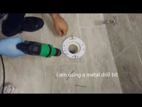 How To Raise A Toilet Flange Above Tile Floor -  Do It Yourself