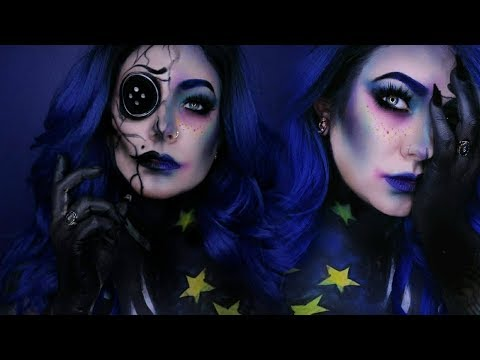 Coraline / Other Mother INSPIRED MAKEUP | Sabrina Geraghty