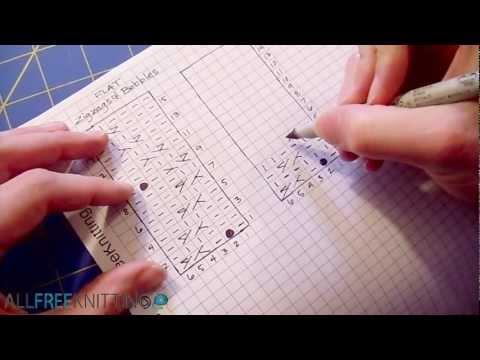 How to Change Flat Stitch Patterns to Knit Circularly