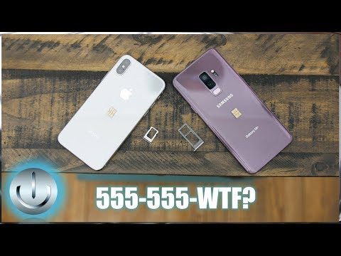2 Smartphones, 2 Sim Cards, 1 Phone Number - Galaxy S9 Plus | iPhone X