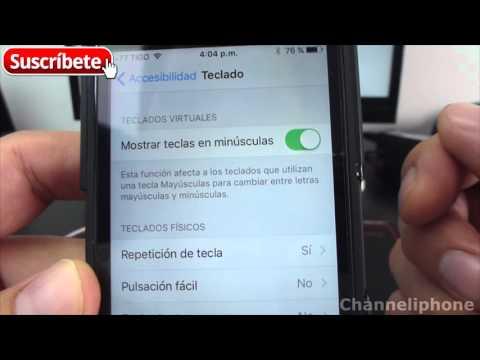 Como Mantener Teclas Mayusculas En iOS 9 - Truco iOS 9 Recuperar MAYUSCULAS